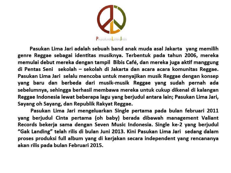 Profile Pasukan Lima Jari 2015-2