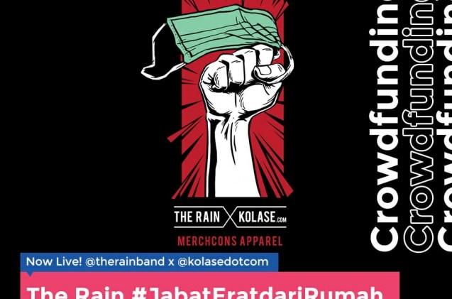 The Rain dan Kolase.com #JabatEratdariRumah Crowdfunding Bantu Penyediaan APD untuk Tenaga Medis Lawan COVID-19